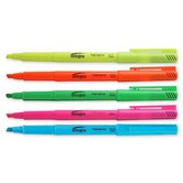 Pen Style Fluorescent Highlighters, Blue