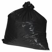 (100 per Carton) 56 Gallon Recycled Trash Bags, 1.8mil