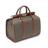 Wings Cosmetic Case in Cognac