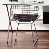 Side Chair with Seat Pad by Harry Bertoia