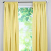 Duck Cotton Rod Pocket Curtain Single Panel