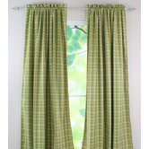 Upstream Plaid Cotton Rod Pocket Curtain Panel