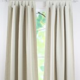Linen Tab Top Curtain Single Panel