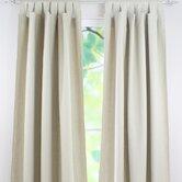 Linen Tab Top Curtain Single Panel