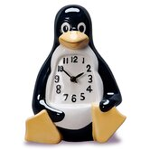 La Penguin Table/Desk Clock