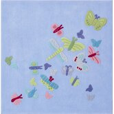 Summer Butterfly Kids Rug