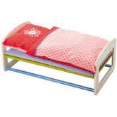 Doll Bed Flower Burst