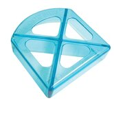 Sandwich Cutters Mini Bites Translucent in Light Blue