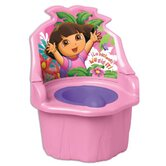 Nickelodeon Dora the Explorer Three - In - One Potty Trainer in Pink