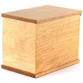 Oak Freedom Deluxe All-Natural Wood Urn