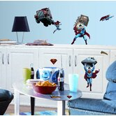 Superman Day Of Doom Peel and Stick Wall Sticker