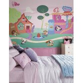 Surestrip Littlest Pet Shop Chair Rail Prepasted Mural