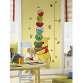 Licensed Designs Pooh Peel and Stick Growth Chart