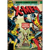 X Men Peel and Stick Comic Book Cover Wall Decal