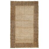 Jute Berber Brown/Natural Diamond Rug