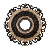 "Napoli 22"" Ceiling Medallion in Sterling Walnut"