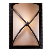 Aspen Rectangular Wall Sconce in Aspen Bronze