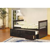 Scout Twin Captain Bed with Trundle