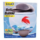 Betta Bubble Betta Bowl with Led Light - 0.5 Gallon