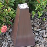 17&quot; Calatrava Zinc Garden Torch