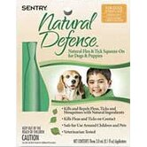 Natural Defense Flea and Tick Squeeze On for Dogs