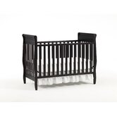 Sarah Classic 4-in-1 Convertible Crib in Espresso
