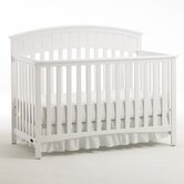 Charleston Classic 4-in-1 Convertible Crib in White