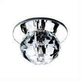 Round Cut Crystal Beauty Spot Light