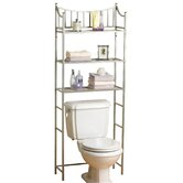 Medina Spacesaver Shelves in Pearl Nickel