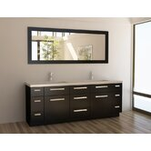 Moscony 84&quot; Double Sink Vanity Set