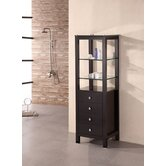Contemporary Linen Three Drawer Cabinet