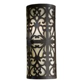 Spazio Energy Star  Outdoor Wall Mount in Iron Oxide