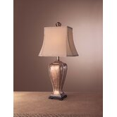 Casual Table Lamp in Warm Bronze
