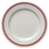 Diner Check Dinnerware Collection in Scarlet