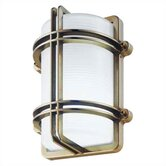 Clipper/G Outdoor Wall, Ceiling, or Post Mounted Lantern with Optional Post
