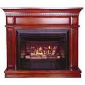 Carlton Dual Fuel Four-in-One Gas Fireplace