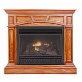 Heritage Dual Fuel Four-in-One Gas Fireplace