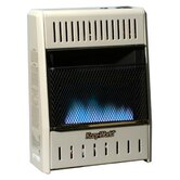 10000 BTU Dual Fuel Blue Flame Wall Heater