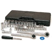 52 Piece Socket Set  W1172