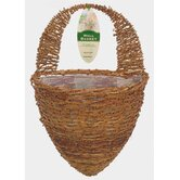 Half Hive Wall Basket Planter