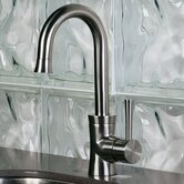 Luca Post One Handle Single Hole Mount Bar Faucet