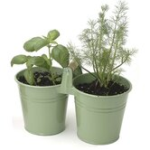 2 Pail Round Planter