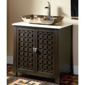 "30"" Single Vessel Sink Vanity in Espresso"