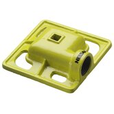 Square Spray Iron Stationary Sprinkler