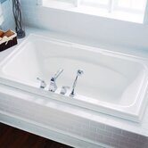 "Town Square 6' x 42"" Soaker Bath Tub"