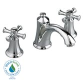 Portsmouth Widespread Bathroom Faucet with Double Cross Handles