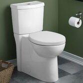 Studio Concealed Trapway Dual Flush Right Height Round Front Toilet