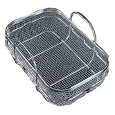 "12.469"" Wide Stainless Steel Mesh Colander"
