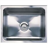 "21"" x 18"" Magnum Single Bowl Undermount Kitchen Sink"