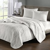 Sheldon Coverlet Set in Off White